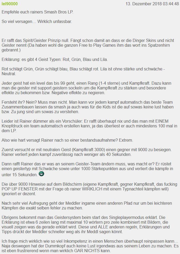 #twittergrind - Tägliches Update zum Drachenlord am 13.12