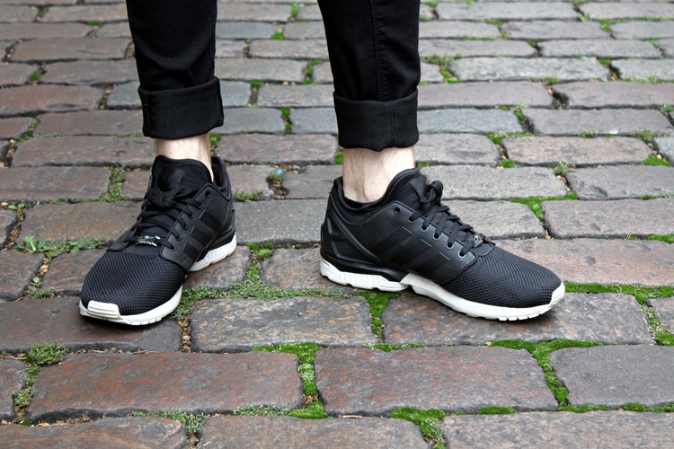 d7cf4c075 Cheap Mens Grey Adidas Zx Flux Nps Mid Trainers at Soletrader Outlet