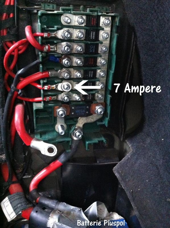 Ständig bmw batterie e46 leer Batterie nach