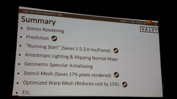 VR Rendering summary for AMD/NVIDIA/Valve tech talks | NeoGAF