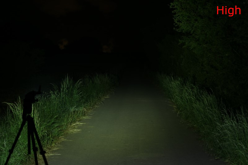 Wuben A21 Taschenlampe 4200 Lumen 222m Reichweite