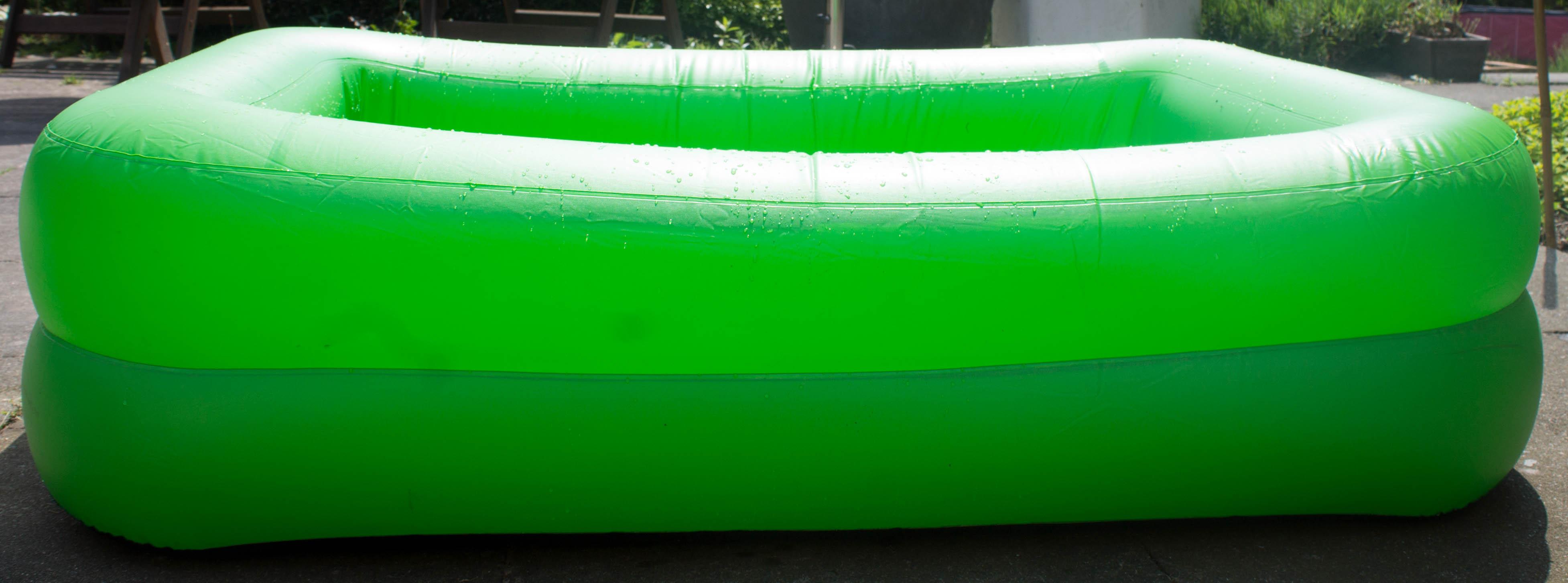 solar pool planschbecken kinder babypool schwimmbecken mit abdeckung ebay. Black Bedroom Furniture Sets. Home Design Ideas