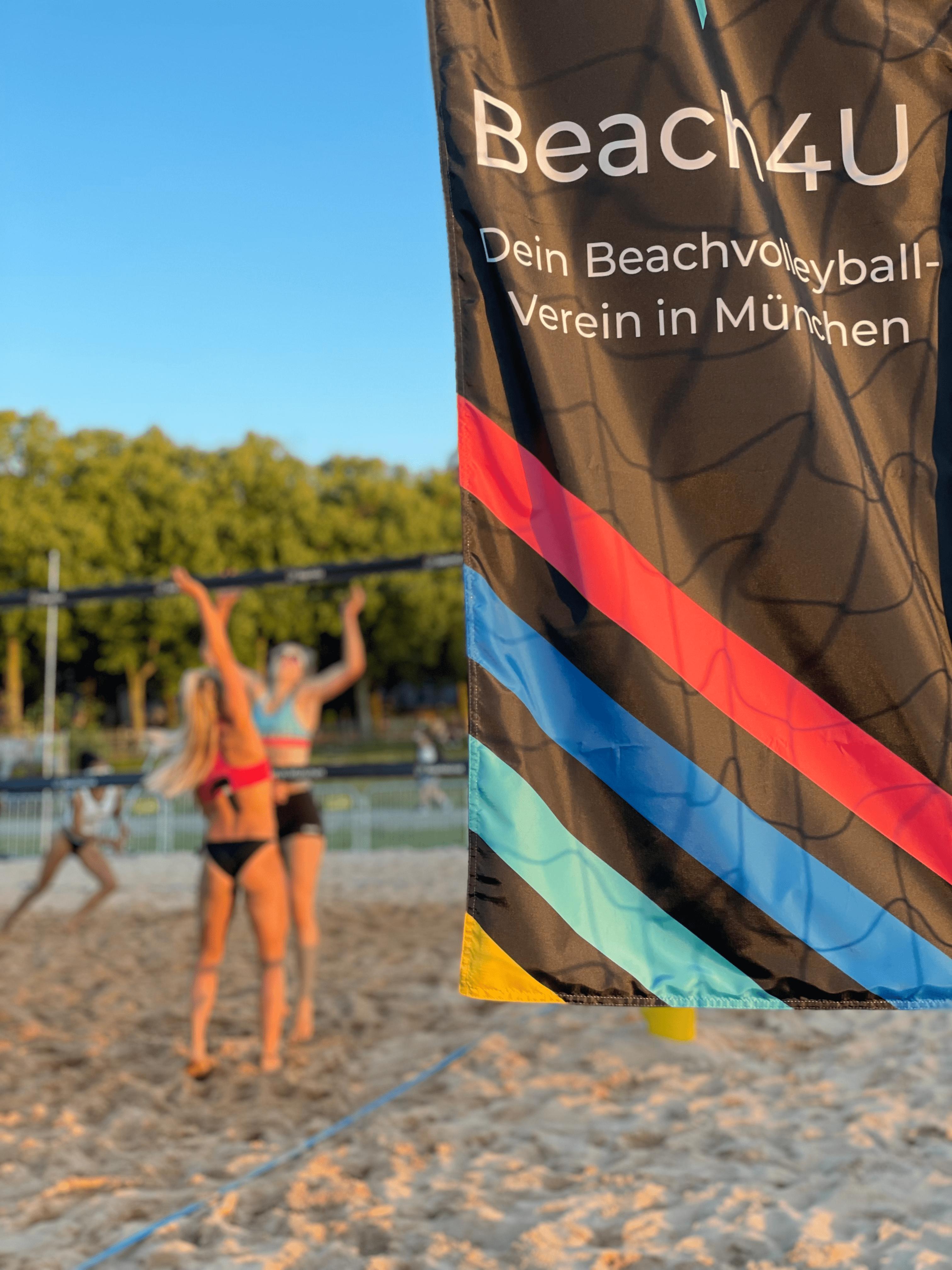 Beach4U Beachvolleyball auf der Theresienwiese