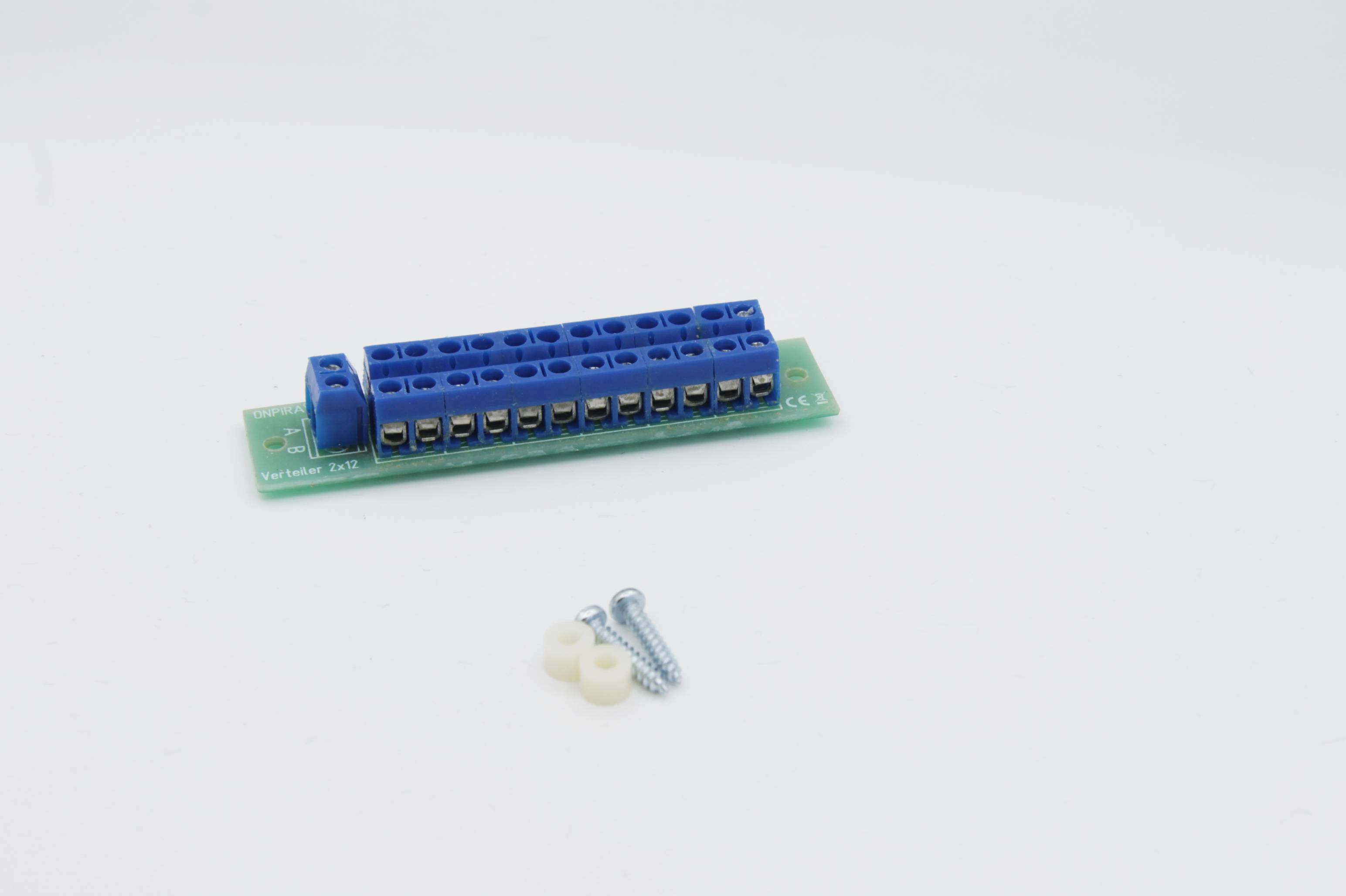 Stromverteiler Modellbahn 2x12 - 30V AC/DC Verteiler