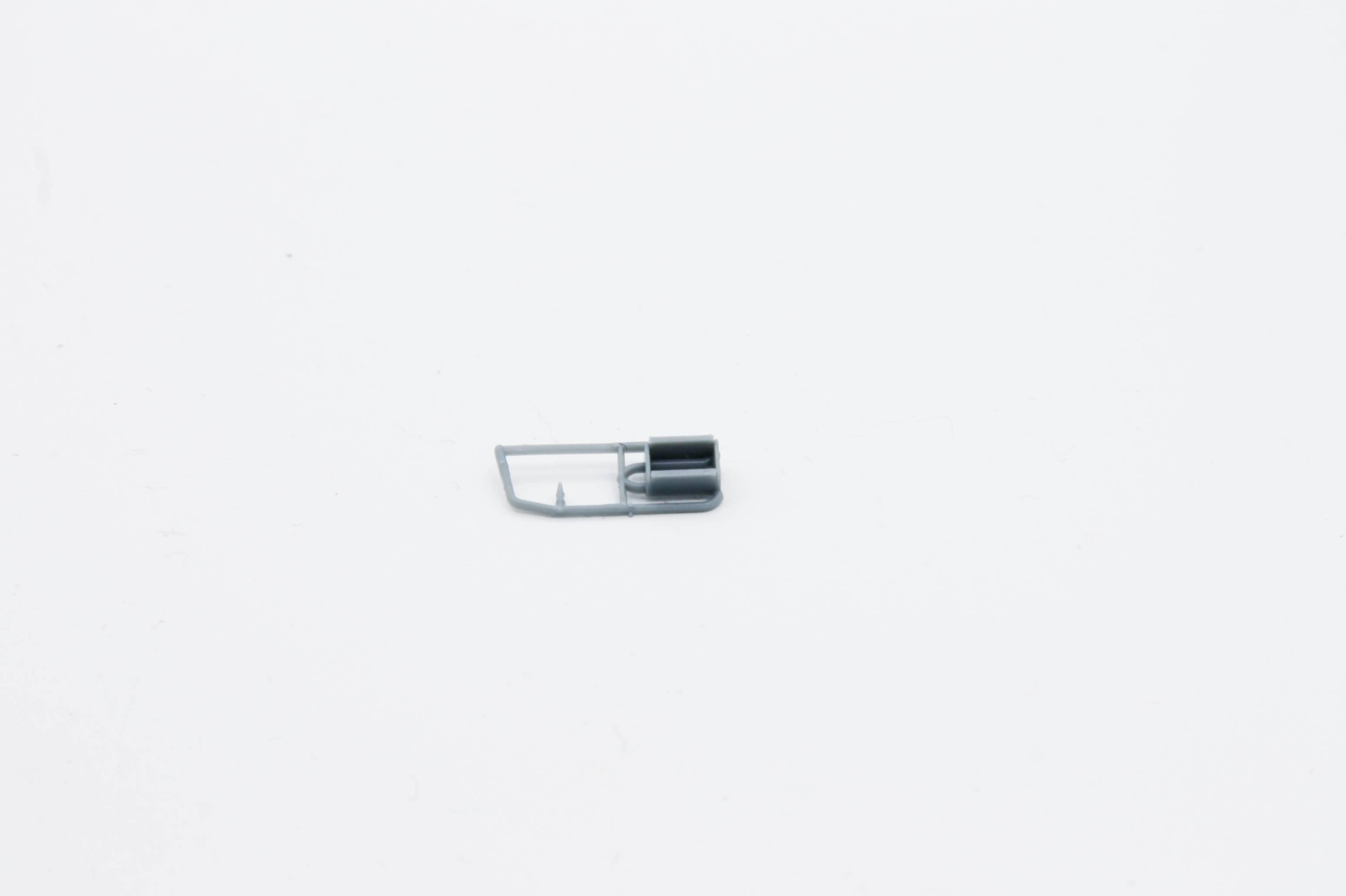Ersatzteil Piko BR 118 / 228 Tritt mit Luftschlange links für Drehgestell grau