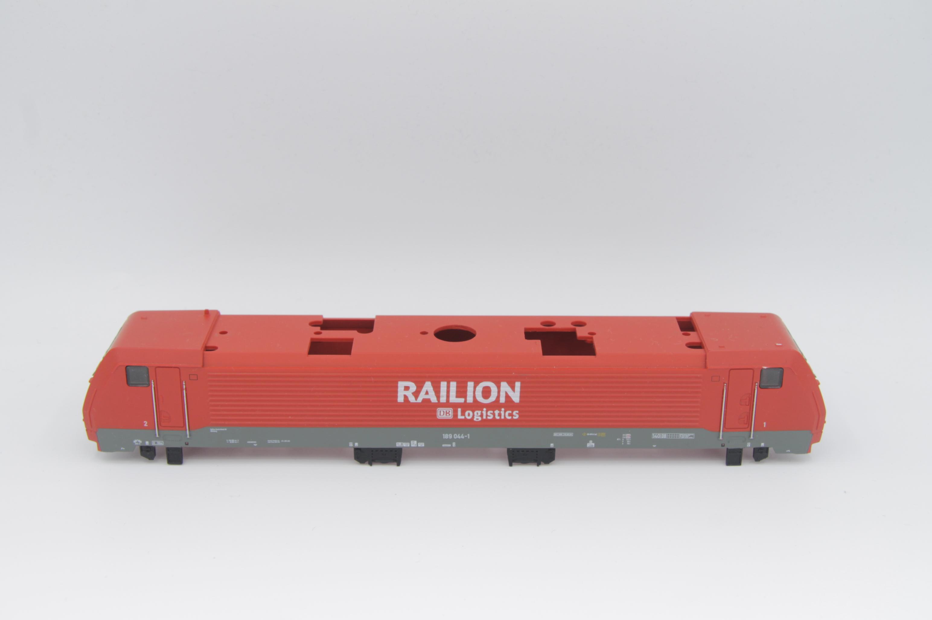 Ersatzteil Piko 189 044-1 Gehäuse Railion verkehrsrot