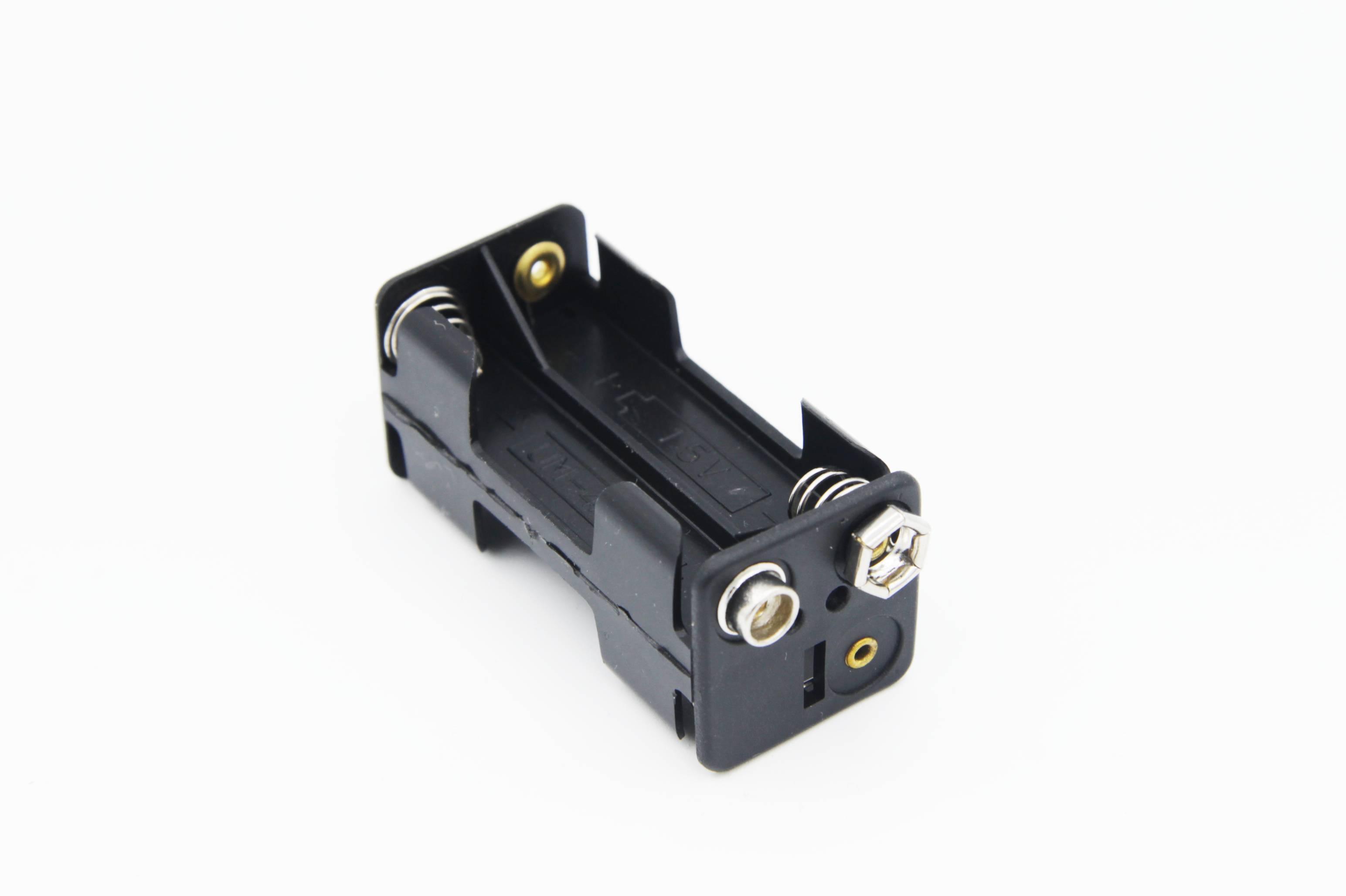 Batteriehalter 4x Micro / AAA Druckknopfanschluss (LxBxH) 53x24x24 mm