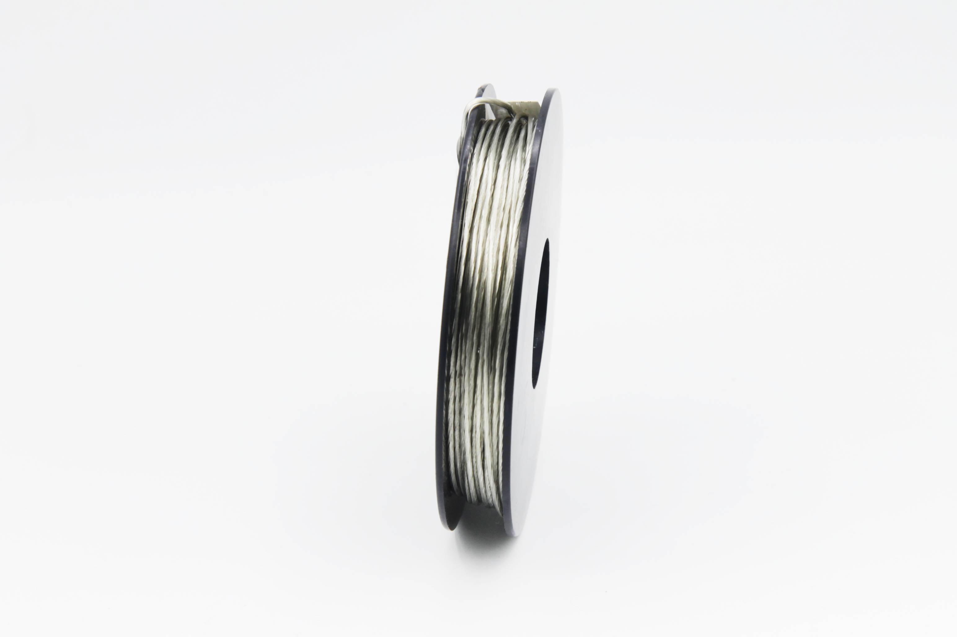 25 m Spule LIYV Kabel Litze flexibel  transparent 0,25 mm² Kupferlitze Kabel