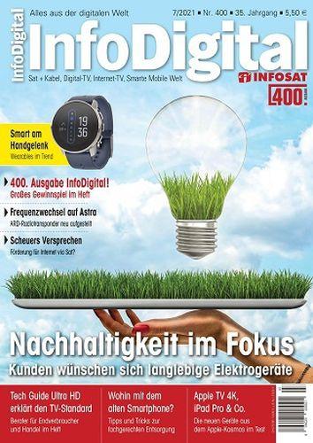 Cover: Info Digital Magazin No 07 Juli 2021