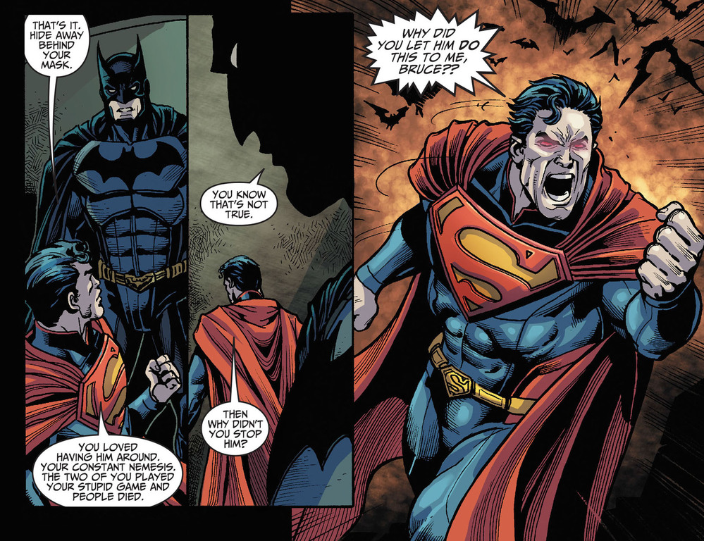 Reading Injustice Right Now This Part Breaks My Heart The