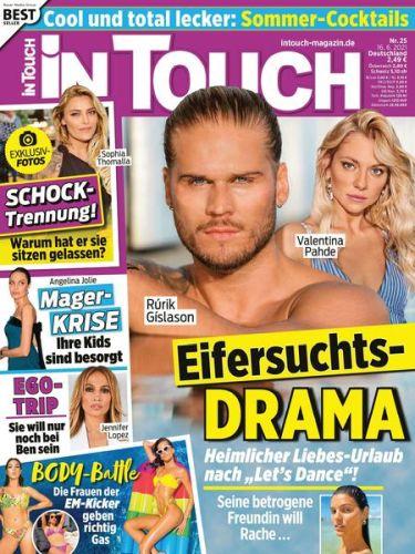 Cover: InTouch Frauenmagazin No 25 vom 16  Juni 2021