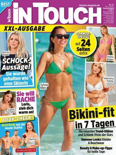 Cover: InTouch Frauenmagazin No 27 vom 30  Juni 2021