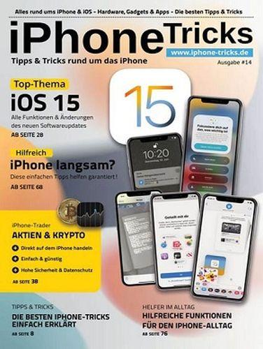 Cover: iPhone-Tipps und Tricks Magazin No 14 2021