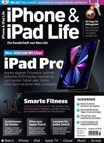 Cover: iPhone & iPad Life Magazin No 03 2021