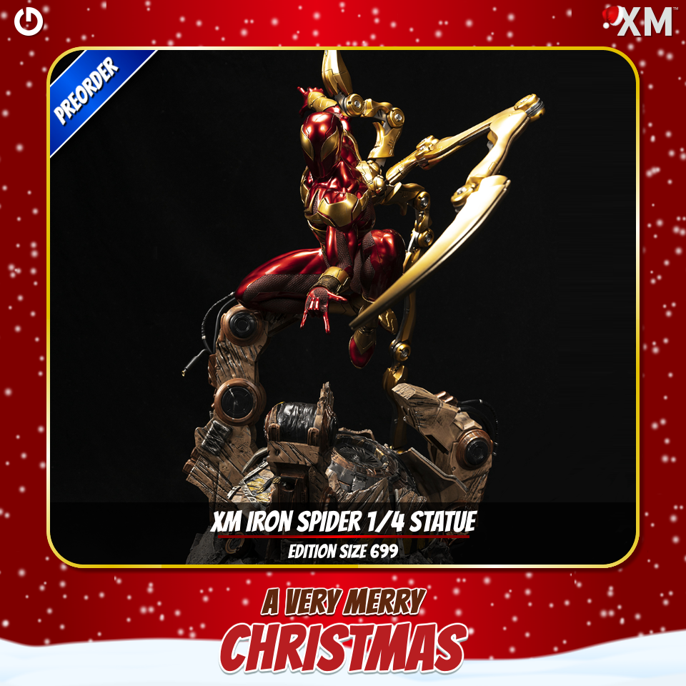 XM Studios: Christmas 2020 Ironspiderarksg