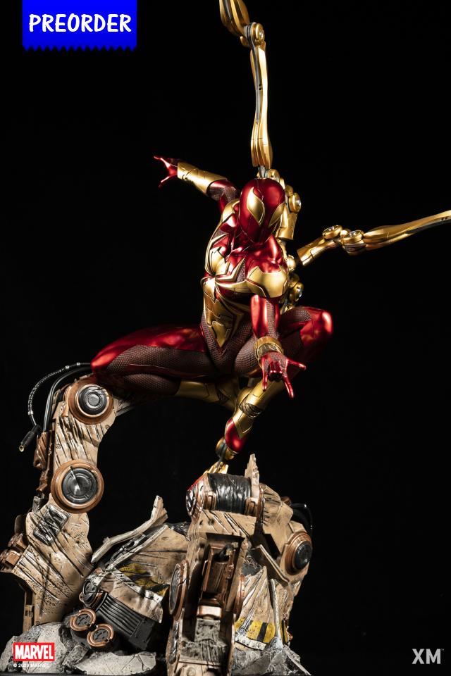 Premium Collectibles : Iron-spiderman** Ironspiderpod6j32