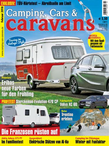 : Camping Cars und Caravans Magazin Februar No 02 2018
