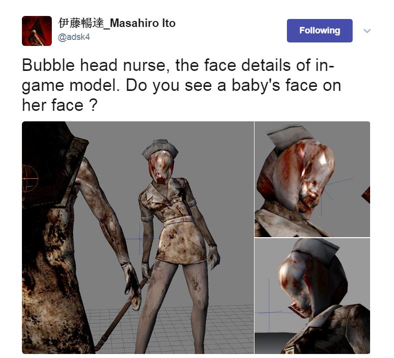 Masahiro Ito Artist Has Been Tweeting Silent Hill Creature