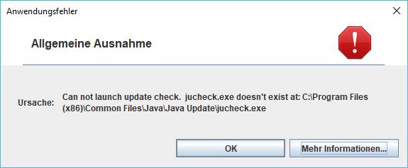 JDK-8187902] Java 9 update check fails - Java Bug System