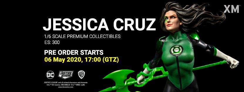 Premium Collectibles : JLA Jessica Cruz 1/6** Jessicacruzpobannervlktc