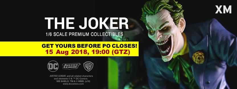 Premium Collectibles : Joker 1/6** Jokerfpofbnrd0q