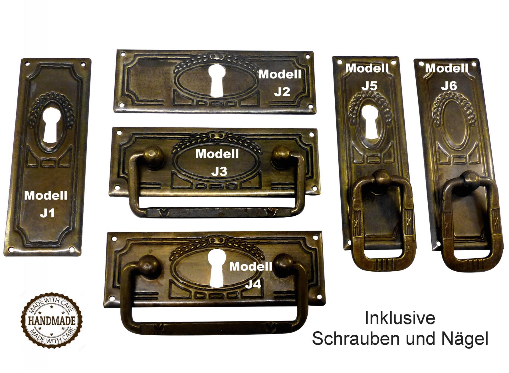 Schubladengriff Möbelgriff Antik Schrankgriff Zierteile Antikbeschlag neu K-095