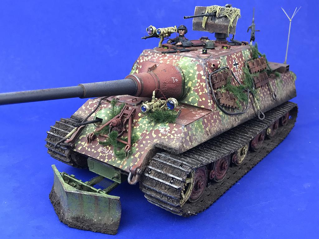 Jagdtiger ausf. b mod. 1946 mit 10 5 cm l 68