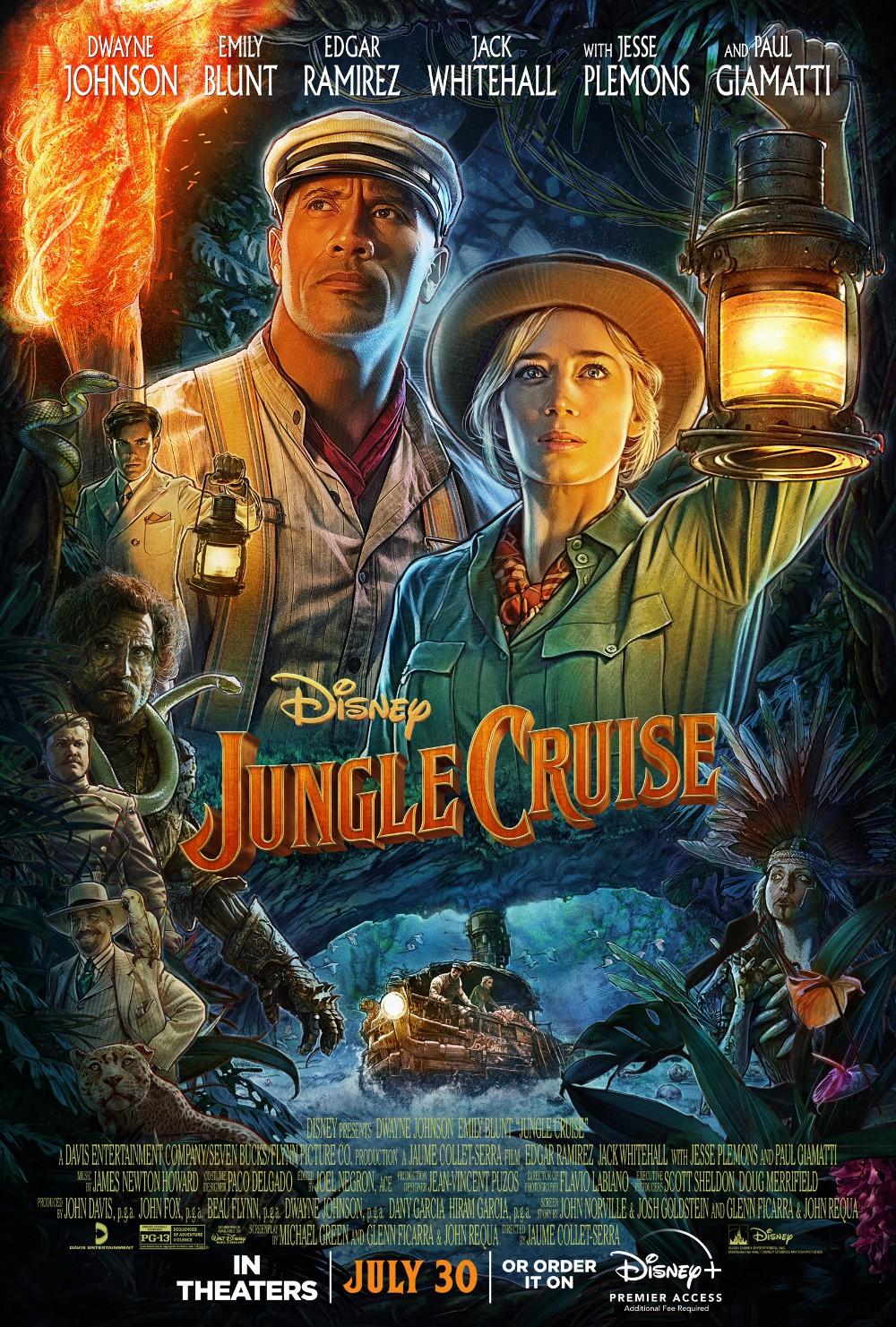 Jungle Cruise 2021 1080p BluRay x264-ONABOAT