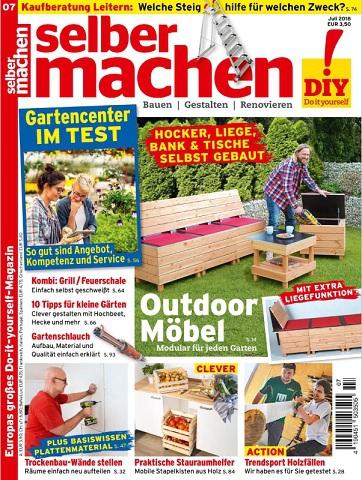 Selber Machen Heimwerkermagazin Juli No 07 2018