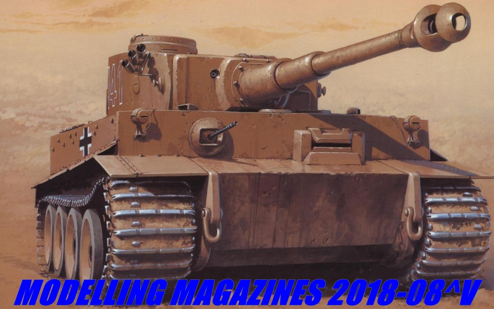 Modelling magazines 2018-08