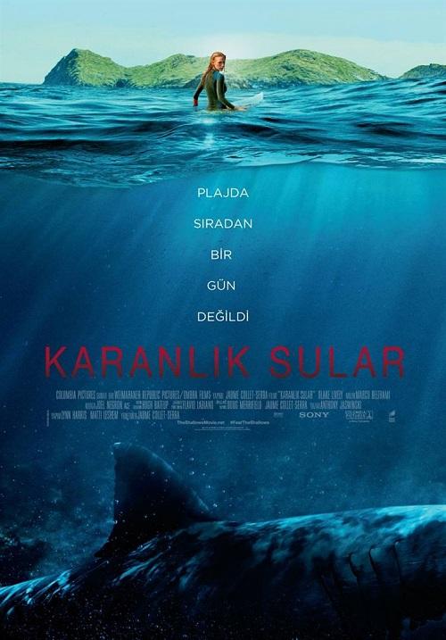 2016 Yapımı Karanlık Sular - The Shallows Filmi İndir