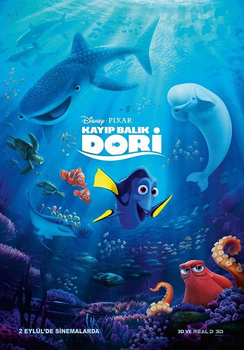 Kayıp Balık Dori – Finding Dory (2016) Film İndir