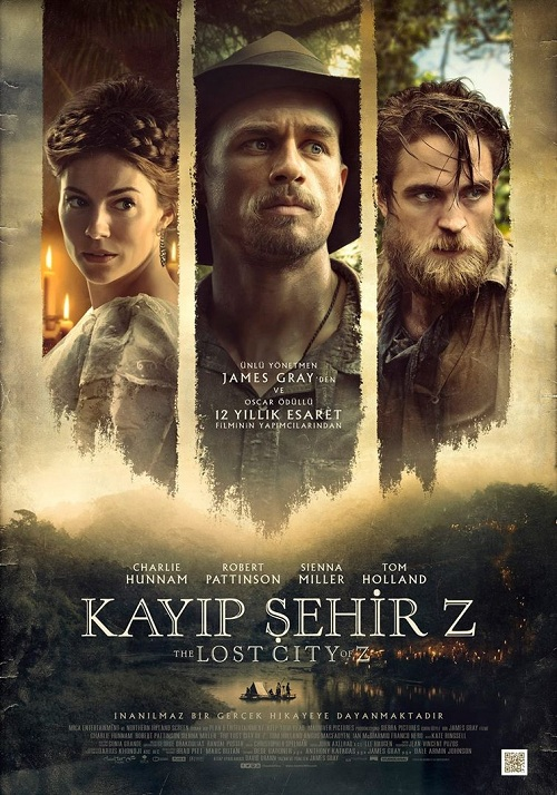 Kayıp Şehir Z Film indir