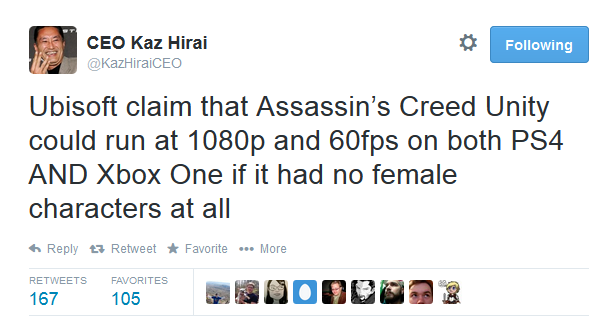 Assassin's Creed Parity Controversy
