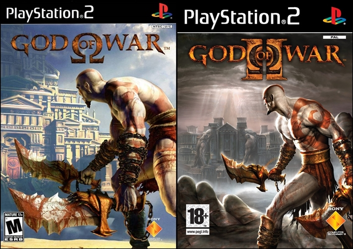 PS2] God Of War Collection (PS2 Classic) [PAL] [Multi5] [DVD9-RIP