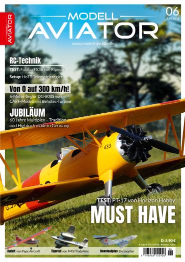 :  Modell Aviator Modellflugmagazin Juni No 06 2018