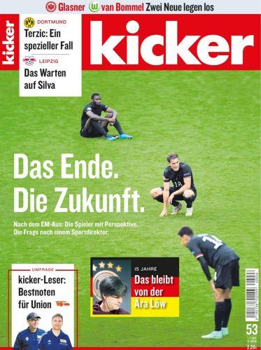 Cover: Kicker Sportmagazin No 53 vom 01  Juli 2021