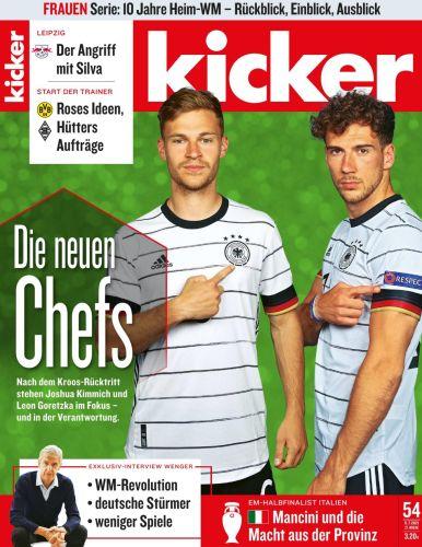 Cover: Kicker Sportmagazin No 54 vom 05  Juli 2021