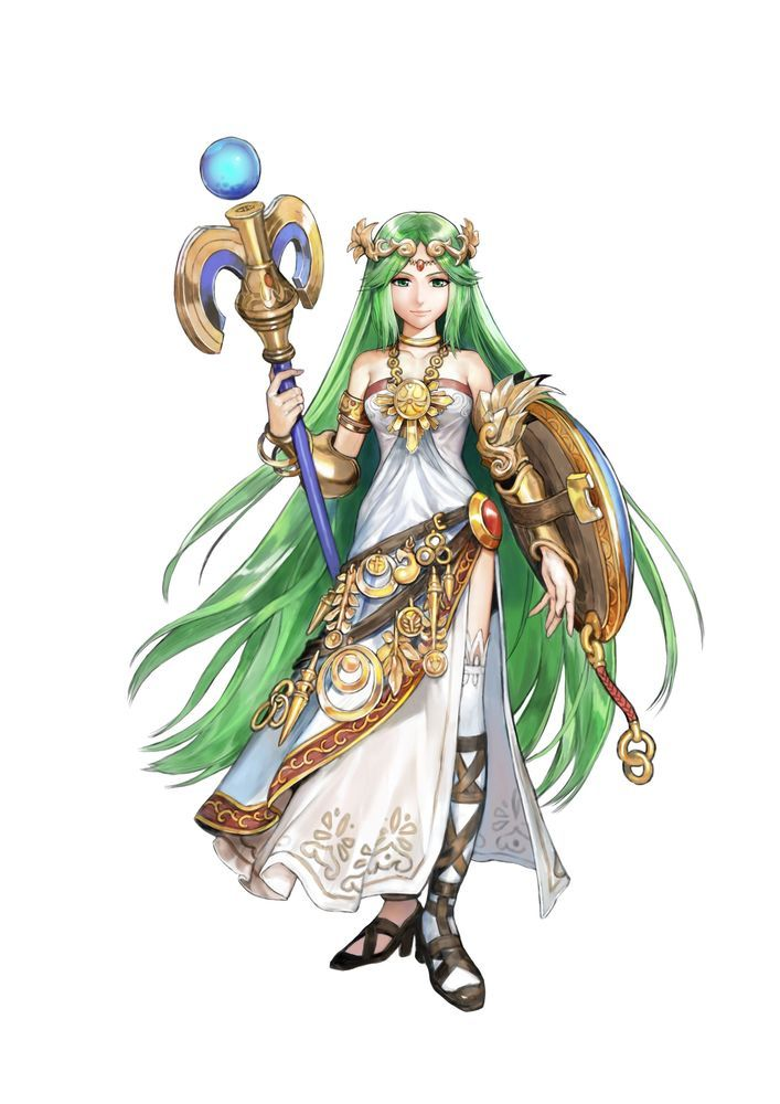 Probably More Than Any Other Possible Newcomer Palutena Has EVERYTHING In Her Favor Kid Icarus