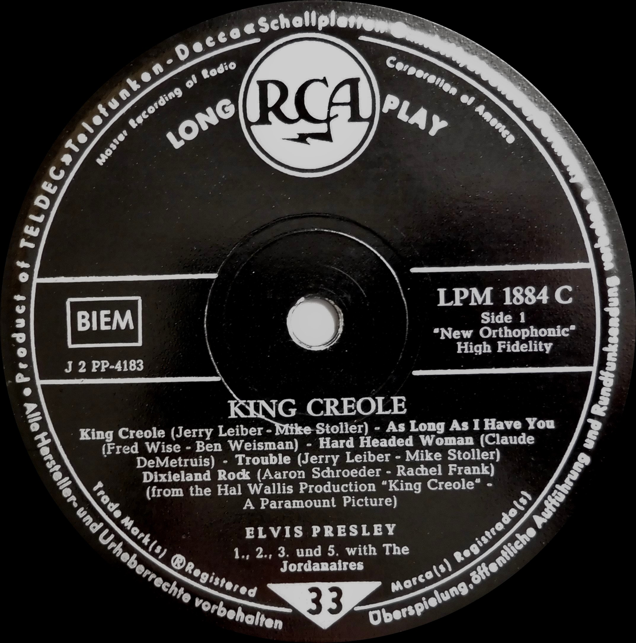 KING CREOLE Kingcreole58side1_ausuauwr