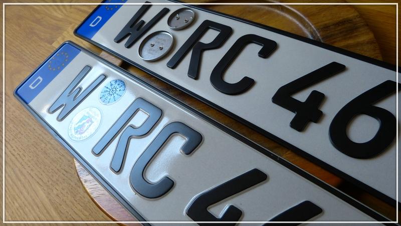 anderes auto gleiches kennzeichen