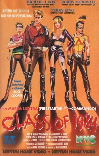 Klasa 1984 - Class of 1984 (1982) *DVDRip* [CUSTOM.DivX-RETRO] [Lektor PL]