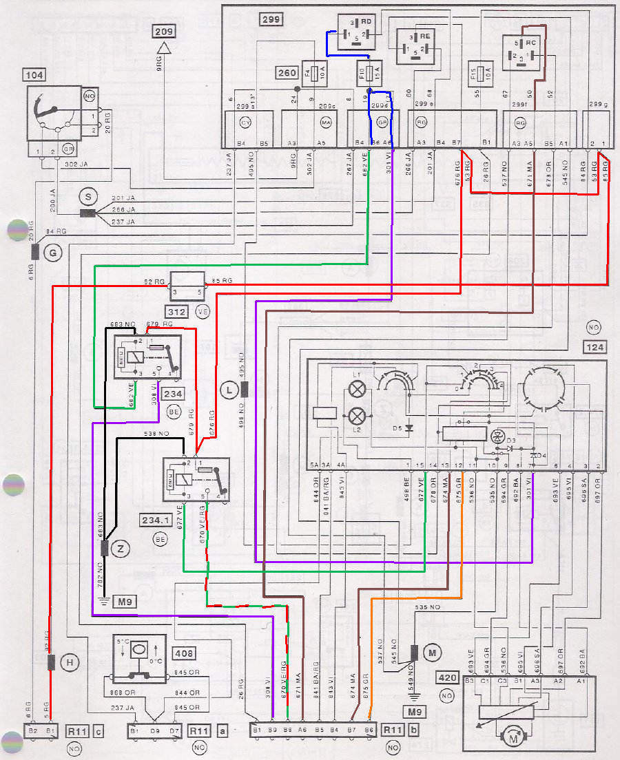 Schaltplan Auto Klimaanlage