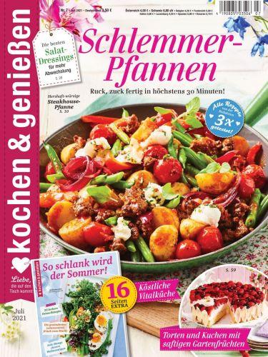 Cover: Kochen & Genießen Magazin No 07 Juli 2021