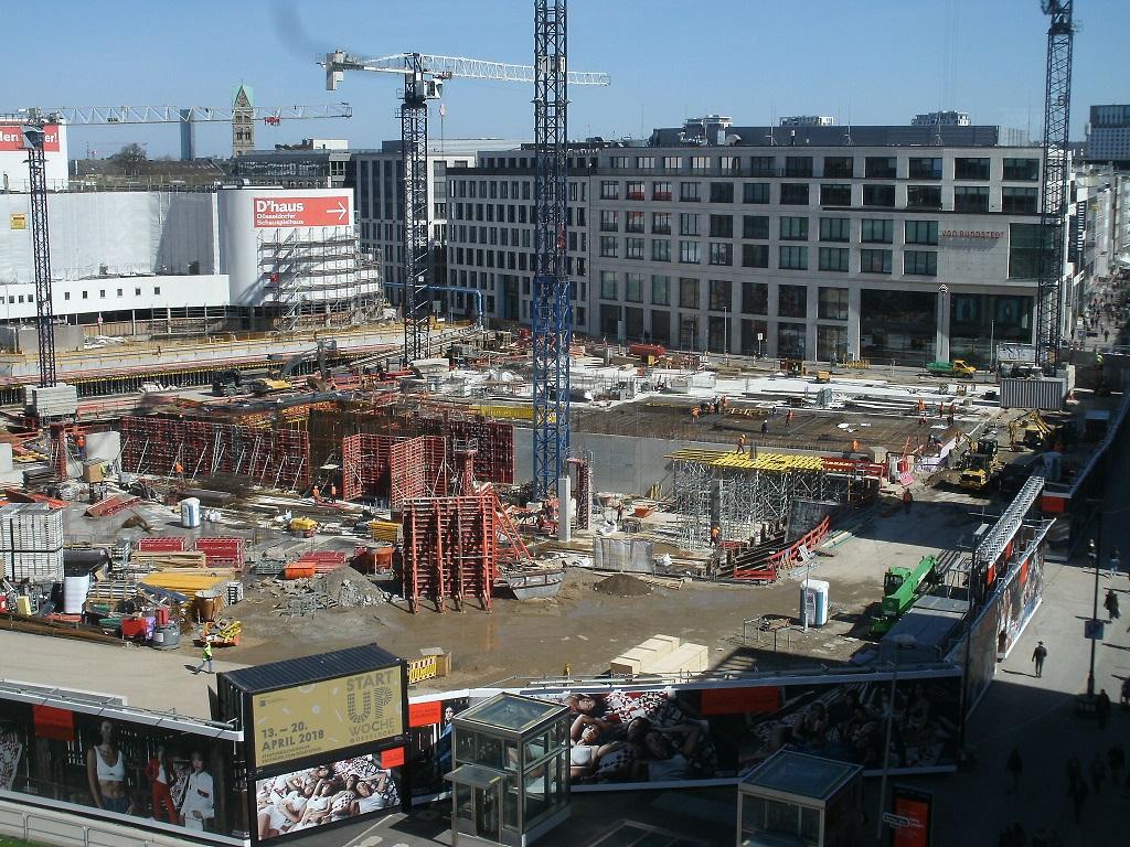 Kö bogen u2013 bautagebuch [archiv] seite 4 deutsches architektur forum