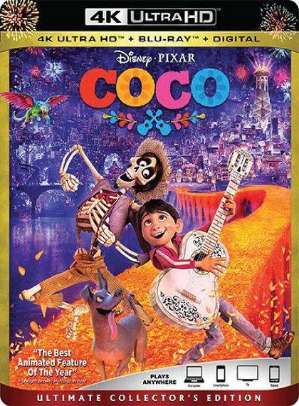 Koko - Coco - 2017 - 2160p - 4K UltraHD - HDR - BluRay - x265 - Türkçe Dublaj - DuaL - TR - EN - Tek Link