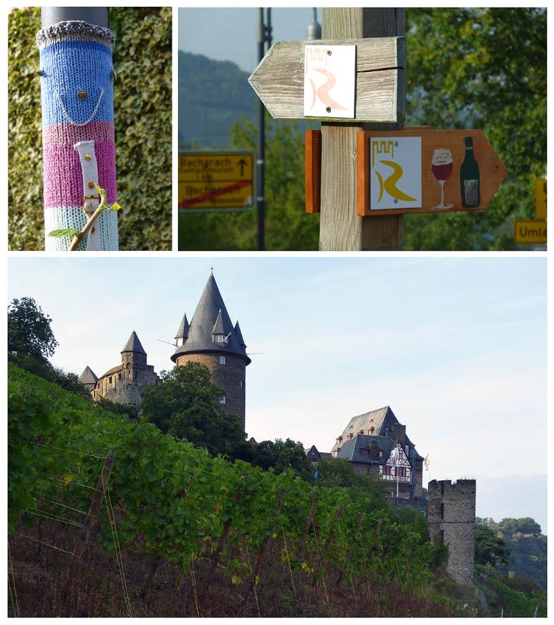 Wanderung Auf Dem Höhenweg Und Durchs: Riesling, Regen, Rhein Und Ritter