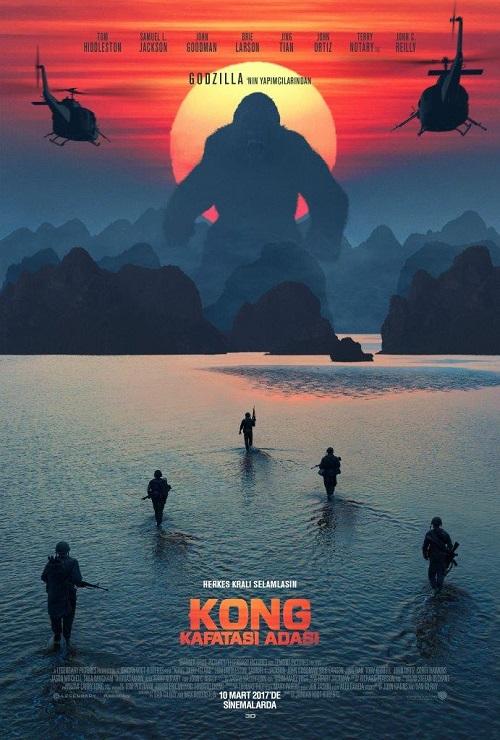 Kong Kafatası Adası Film İndir