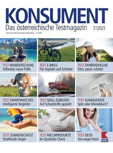 Cover: Konsument Das Testmagazin No 07 2021