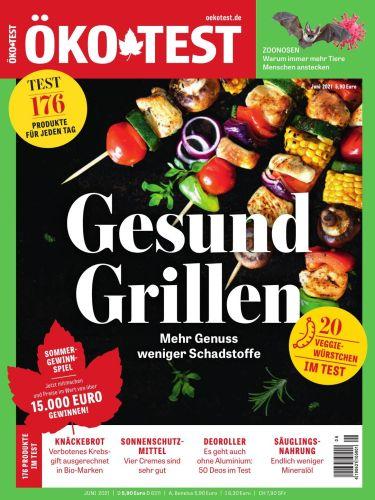 Cover: Öko-Test Magazin No 06 2021